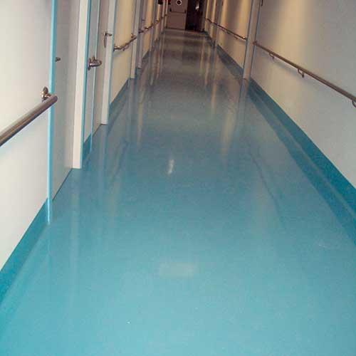 Pavimento pasillo 2