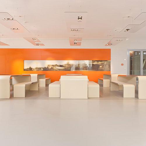 Pavimento BASF oficina